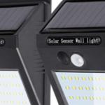屋外用「センサーライト 人感ソーラーLEDライト」の特徴・防犯効果は?