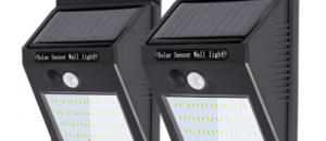LED 防犯 ソーラー ライト